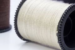 Beige Thread Royalty Free Stock Photography