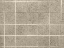 Beige Tiles. Bathroom or Kitchen tiles royalty free stock photo