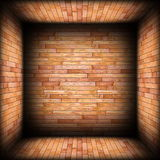 Beige tiles on architectural room background Stock Photography