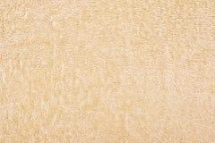 Beige Towel Texture Stock Photography
