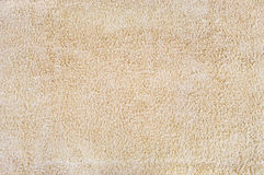 Beige towel texture Royalty Free Stock Image