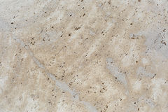 Beige travertine texture abstract as background. Natural stone. Royalty Free Stock Photo