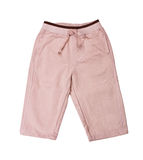 Beige trousers Royalty Free Stock Image