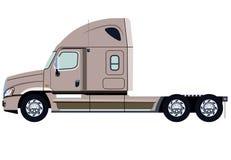 Beige truck Stock Image