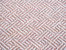 Beige tweed fabric pattern Royalty Free Stock Image