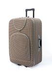 Beige - valise de course Image stock