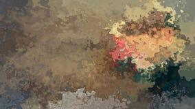 Beige video manchado animado abstracto del marrón del grunge del vintage del lazo inconsútil del fondo coloreado ilustración del vector