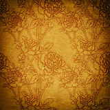 Beige vintage paper in victorian style Royalty Free Stock Images