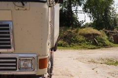 Beige vrachtwagen Royalty-vrije Stock Afbeelding