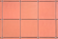 Beige wall tiles Royalty Free Stock Images