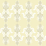beige wallpaper Arkivfoto