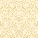 Beige wallpaper pattern Royalty Free Stock Images