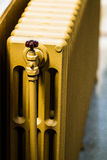 Beige Water Radiator Royalty Free Stock Image