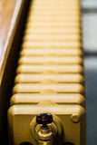 Beige Water Radiator Stock Image