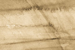 Beige watercolor painted texture background Royalty Free Stock Photos