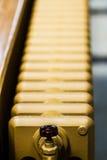 Beige Waterradiator Stock Afbeelding