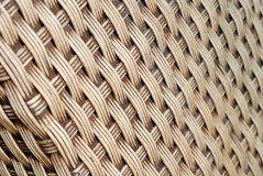 Beige Weaved Bamboo Texture. Outdoor Furniture Interlaced four strings Interior Design Stock Photography