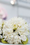 Beige wedding bouquet Stock Image