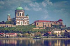 Beige and White Dome Building Near Body of Water Stock Photo