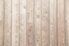 Beige wood plankatexturbakgrund Royaltyfri Bild