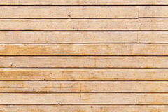 Beige wooden wall. Background photo texture Stock Photo