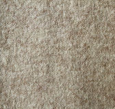 Beige wool knitted texture Stock Photos