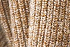 Beige wool texture Royalty Free Stock Images