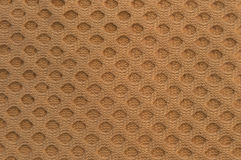 Beige Woven Circle Texture. Woven texture with a circular woven pattern Royalty Free Stock Images
