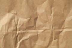 Beige yttersida för färgpappersark med wrinckles Royaltyfria Foton