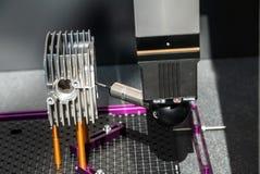 Beigeordnete Messmaschine der Hochleistung Stockbilder