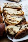 Beigli, венгерское маковое семеня и крены грецкого ореха Стоковые Изображения RF