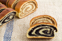 Beigli - hungarian poppy seed and walnut rolls royalty free stock images