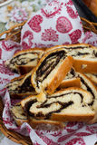 Beigli, hungarian poppy seed and walnut rolls Stock Photography