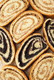 Beigli - roulis hongrois de clou et de noix de girofle Images libres de droits