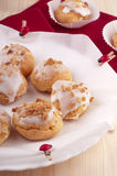 Beignet. Sweet homemade Beignet with arachis Royalty Free Stock Photos