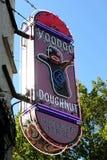 Beignet célèbre Portland Orégon de vaudou Images libres de droits