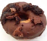 Beignet de chocolat Images libres de droits