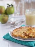 Beignet de pomme de terre d'un plat Image libre de droits