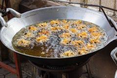 Beignet de taro et de pomme de terre Photo libre de droits