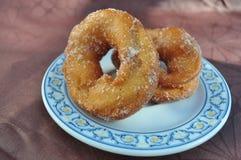 Beignet frit fait maison Images libres de droits
