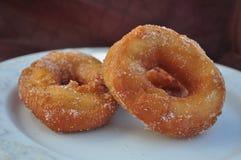 Beignet frit fait maison Photo libre de droits