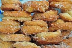 Beignet frit fait maison Photographie stock libre de droits
