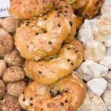 beignets de biscuits italiens Images libres de droits