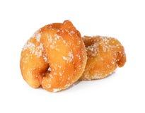 Beignets enduits de mini sucre Photographie stock libre de droits