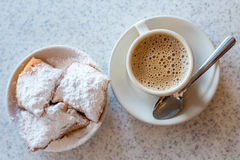 Beignets (French style donuts) Royalty Free Stock Image