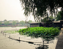 Beihai imperial park Royalty Free Stock Photos