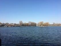beihai lake royalty free stock images