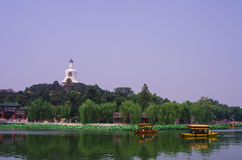 Beihai Park,Beijing Royalty Free Stock Photos