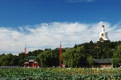 Beihai park of beijing stock images