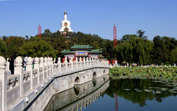 Beihai park at beijing Royalty Free Stock Photography